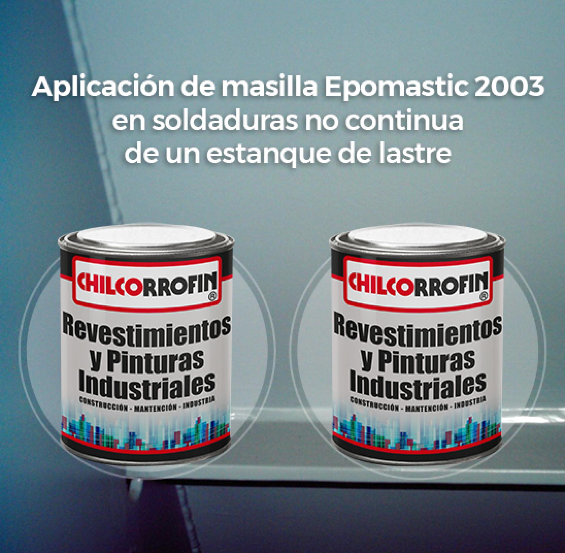 Nueva fórmula masilla epóxica submarina: EPOMASTIC 2003